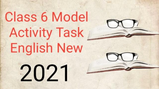 class 6 model activity task english new