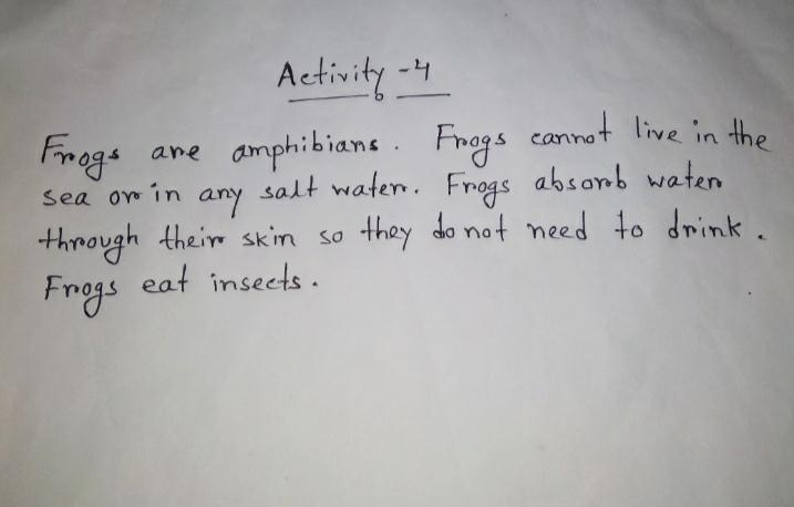[ 3rd Series ] Class 3 Model Activity Task English Part 6